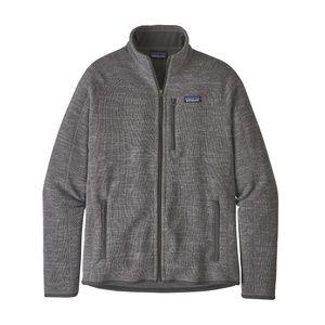 Patagonia Men's Better Sweater Gray Fleece Jacket